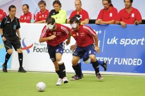 ブラインドサッカースペイン代表の写真